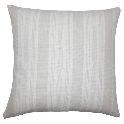 """Gray Textured Square Throw Pillow (20""""x20"""") - The Pillow Collection"""