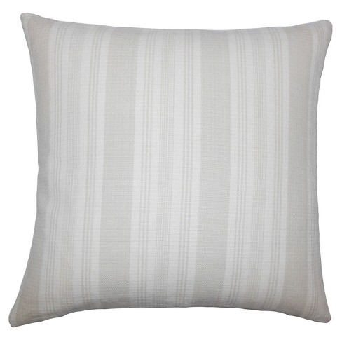 """Gray Textured Square Throw Pillow (20""""x20"""") - The Pillow Collection - image 1 of 1"""