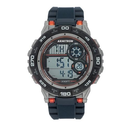Men's Armitron Digital Chronograph Watch - Navy - image 1 of 1