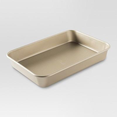 9 x 13 Inch Cake Pan - Gold - Threshold™