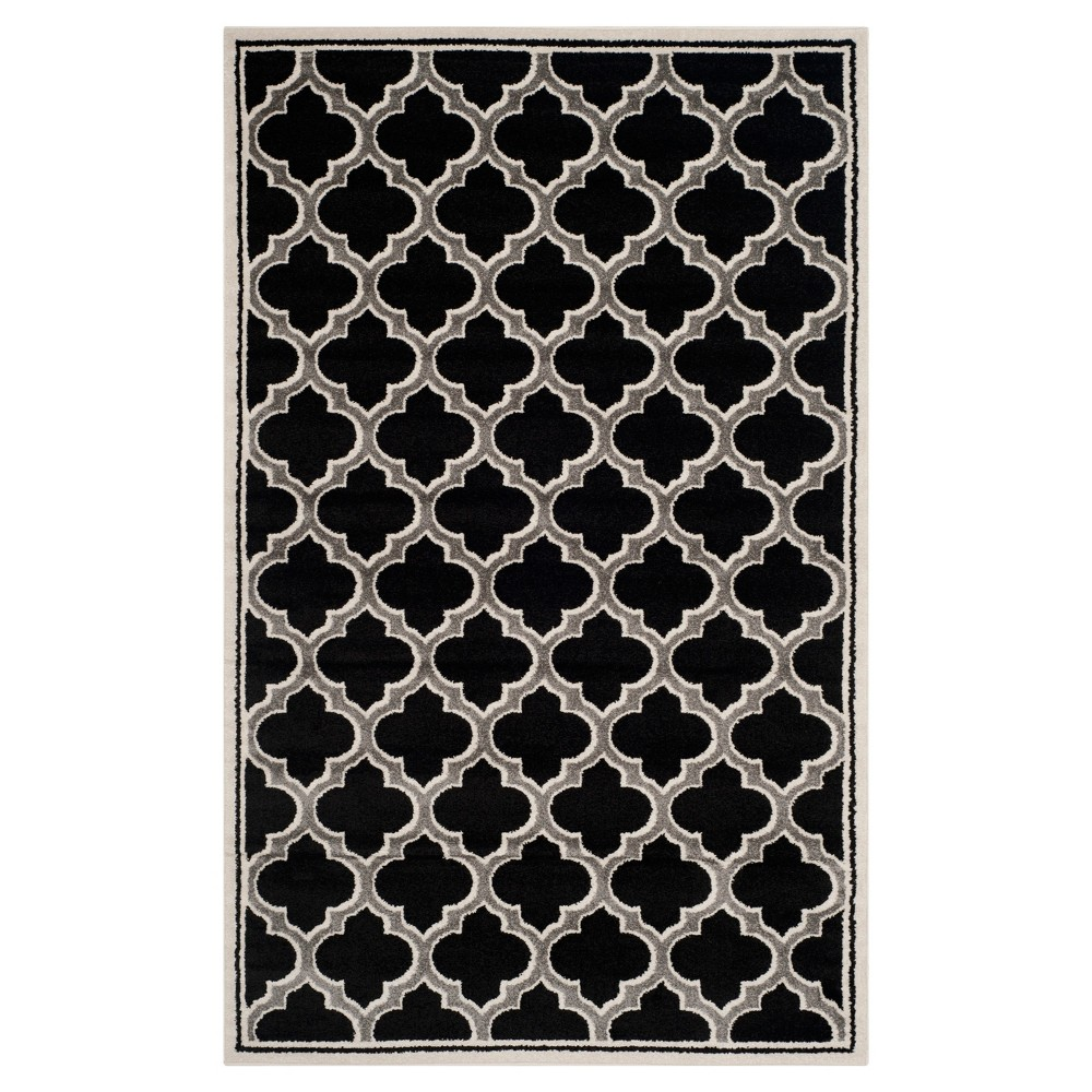 4 39 X6 39 Coco Loomed Rug Anthracite Ivory Safavieh