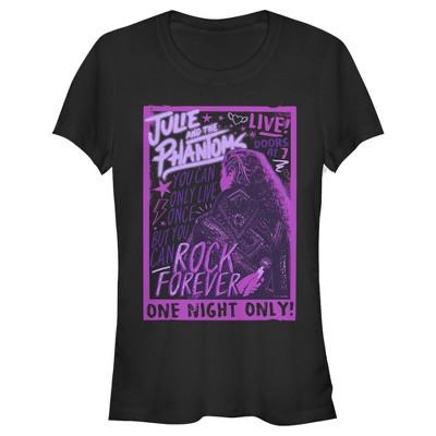 Junior's Julie and the Phantoms Rock Poster T-Shirt