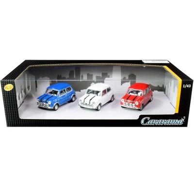 Mini Cooper 3 piece Gift Set 1/43 Diecast Model Cars by Cararama