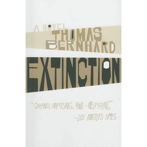 Extinction - (Vintage International) by  Thomas Bernhard (Paperback) - image 1 of 1