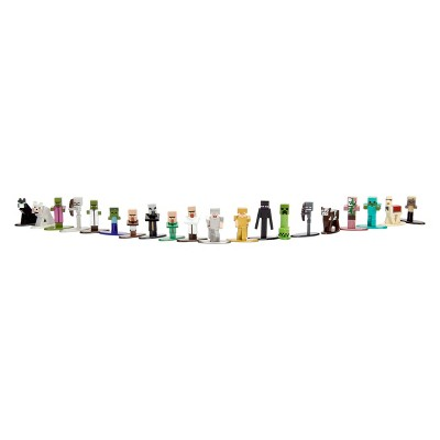 Nano Metalfigs Minecraft Figure Set