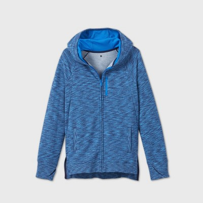 Boys' French Terry Full Zip Hoodie Sweatshirt - All in Motion™