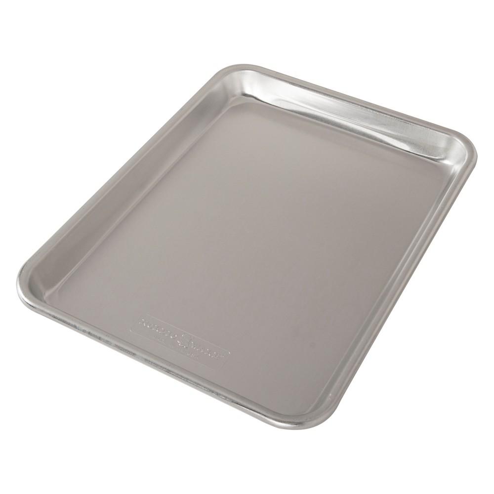 Image of Nordic Ware Naturals Quarter Sheet Pan, Silver
