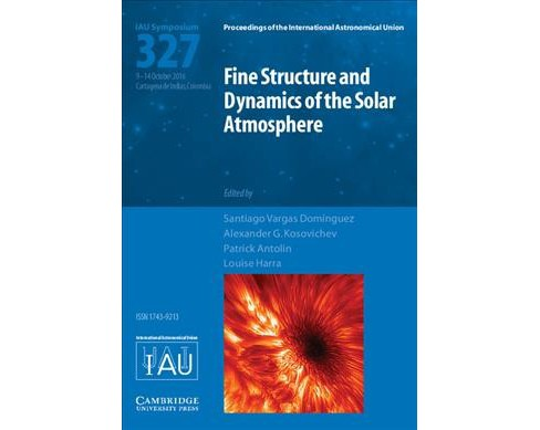 Fine Structure and Dynamics of the Solar Atmosphere - Iau S327 (Hardcover) - image 1 of 1