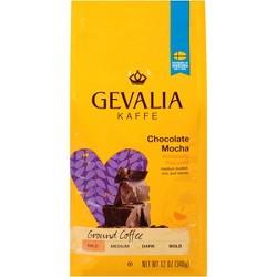 Gevalia Chocolate Mocha Flavored Light Roast Ground Coffee - 12oz