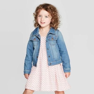 OshKosh B'gosh Toddler Girls' Denim Jacket - Blue 12M