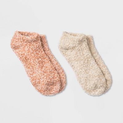 Women's Cozy Marled 2pk Low Cut Socks - Universal Thread™ 4-10