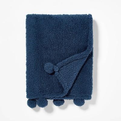 Teddy Bear Plush Throw - Pillowfort™