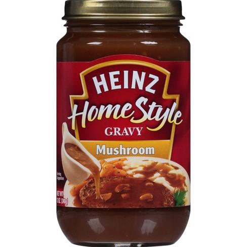 Heinz Home Style Rich Mushroom Gravy - 12oz - image 1 of 3
