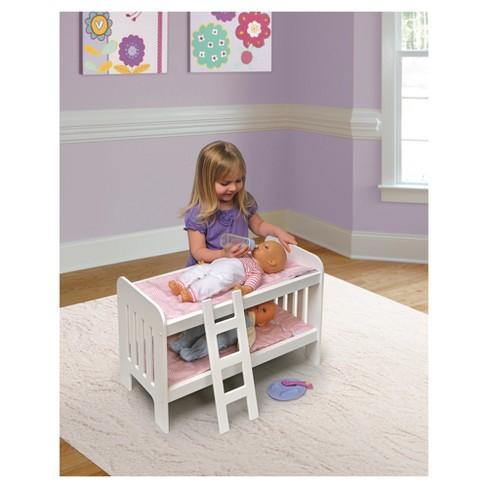 Badger Basket Doll Bunk Beds With Ladder Target