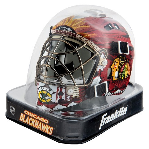 Franklin Sports NHL Chicago Blackhawks Mini Goalie Mask - image 1 of 2