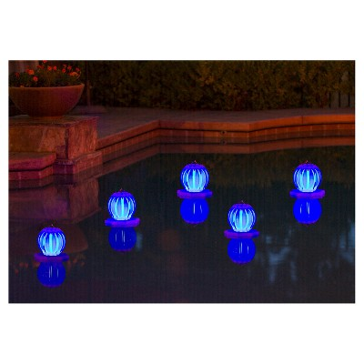 Poolmaster Solar Lantern LED - Blue