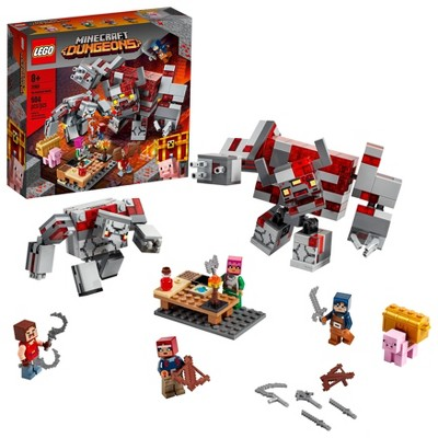 LEGO Minecraft The Redstone Battle Cool Action Playset for Kids 21163