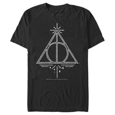Men's Harry Potter Deathly Hallows Symbol T-Shirt