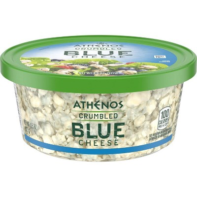 Athenos Crumbled Blue Cheese - 4oz
