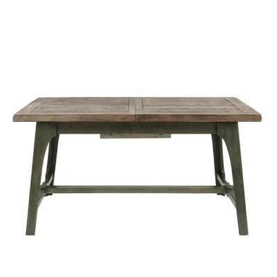 Oliver Extendable Dining Table Gray