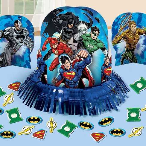 Amscan Justice League Table Decorating Kit - image 1 of 1