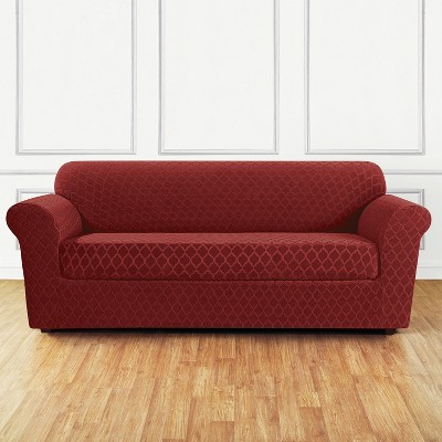 Exceptionnel Stretch Marrakesh Sofa Slipcover Paprika   Sure Fit : Target