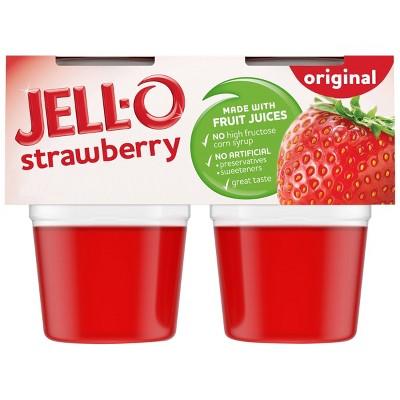 JELL-O Original Strawberry Gelatin - 13.5oz/4ct