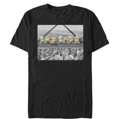 Men's Despicable Me Minion Construction Lunch T-Shirt