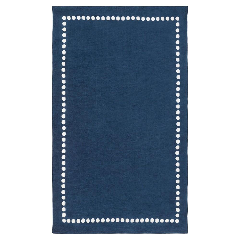 Navy (Blue) Lamoine Kid's Area Rug 5'x8' - Surya