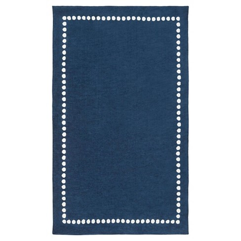 Navy Lamoine Kid's Accent Rug 2'x3' - Surya - image 1 of 1