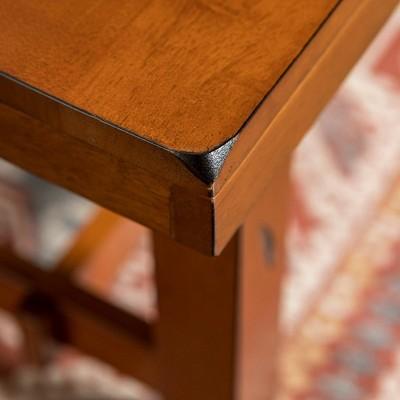 "60"" Distressed Dark Oak Wood Bench - Saracina Home : Target"