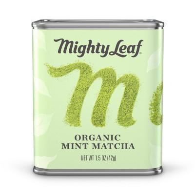 Mighty Organic Mint Matcha Loose Leaf Tea - 1.5oz