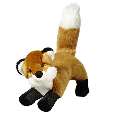 Fluff & Tuff Hendrix the Fox, Large Plush Dog Toy with Squeaker