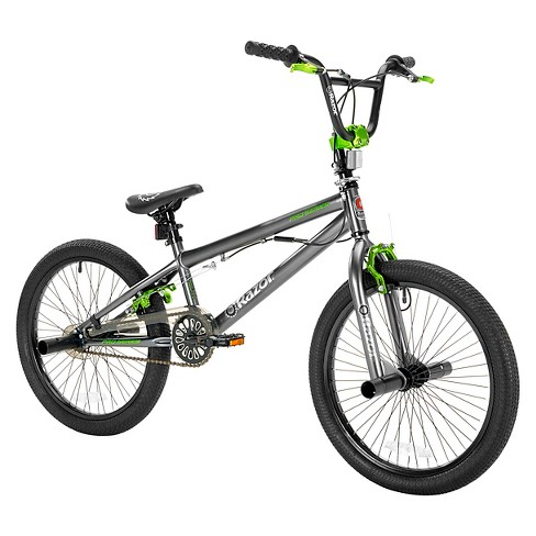Kids Razor® ProSeries Freestyle Bike - Gray/Green 20\