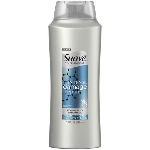 Suave Professionals Intense Damage Repair Shampoo - 28 fl oz - image 1 of 4