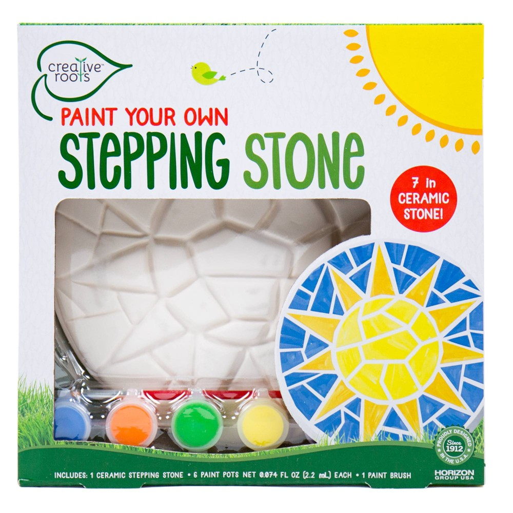 Image of Creative Roots Paint Your Own Stepping Stone