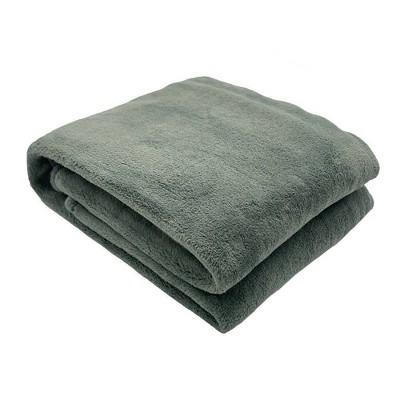 "50""x70"" Oversized Primalush Throw Blanket Sage - Threshold™"