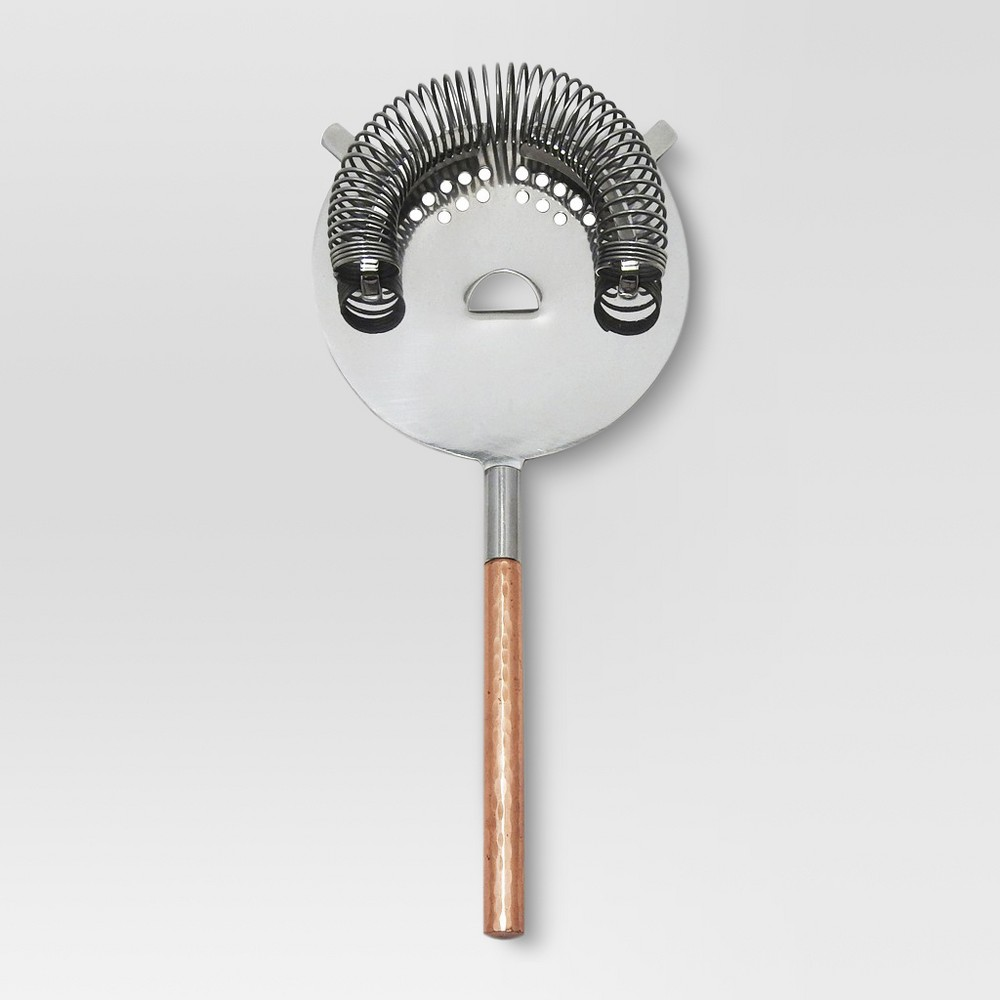 Image of Cocktail Strainer Stainless Steel and Copper (Brown) - Threshold