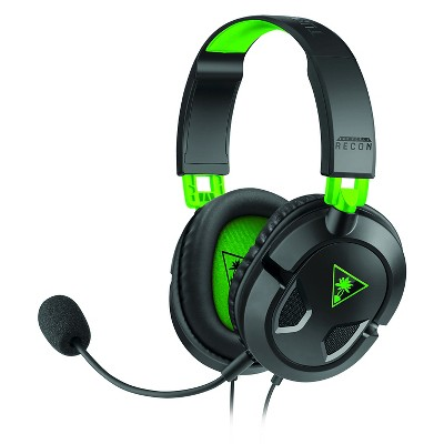 Turtle Beach Recon 50X Stereo Gaming Headset for Xbox One/Series X - Black/Green