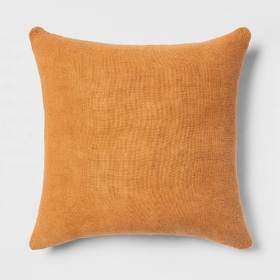 Linen Square Throw Pillow - Threshold™