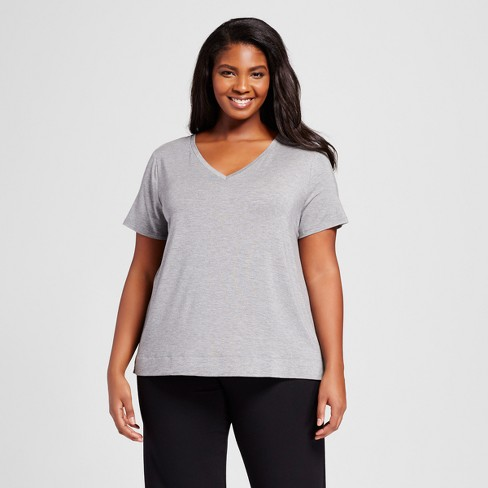 Women's Plus Size Sleep T-Shirt - Gilligan & O'Malley™ - image 1 of 2