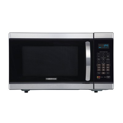 Faberware Gourmet 1.1 cu ft Smart Sensor Microwave Oven with Inverter Technology - Silver