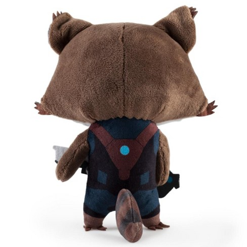 Guardians Of The Galaxy 8 Phunny Plush Rocket Raccoon Target