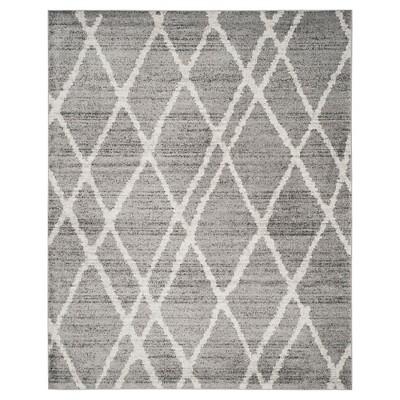 Adirondack Rug - Ivory/Silver - (8'x10')- Safavieh