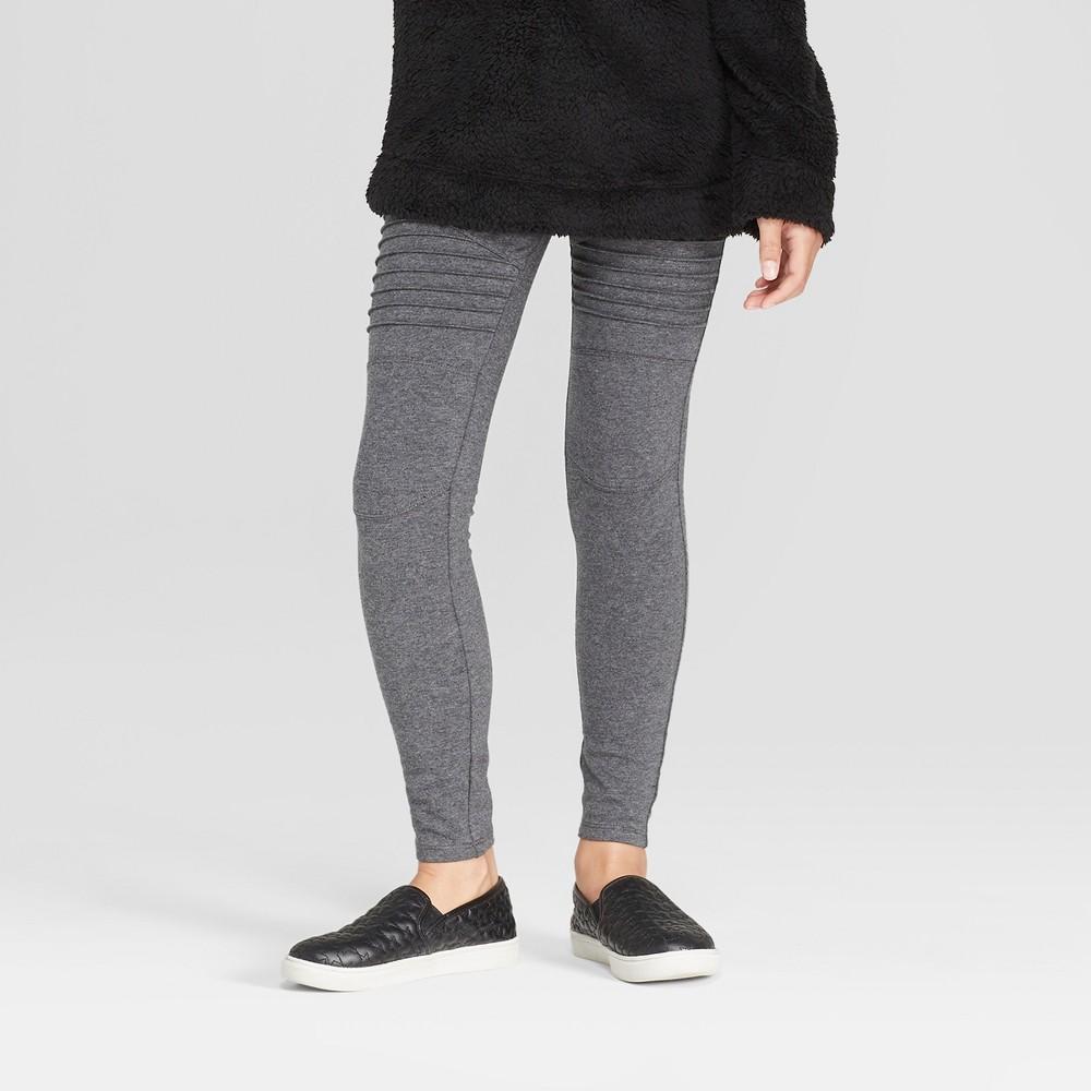 Girls' Moto Leggings - art class Gray XL