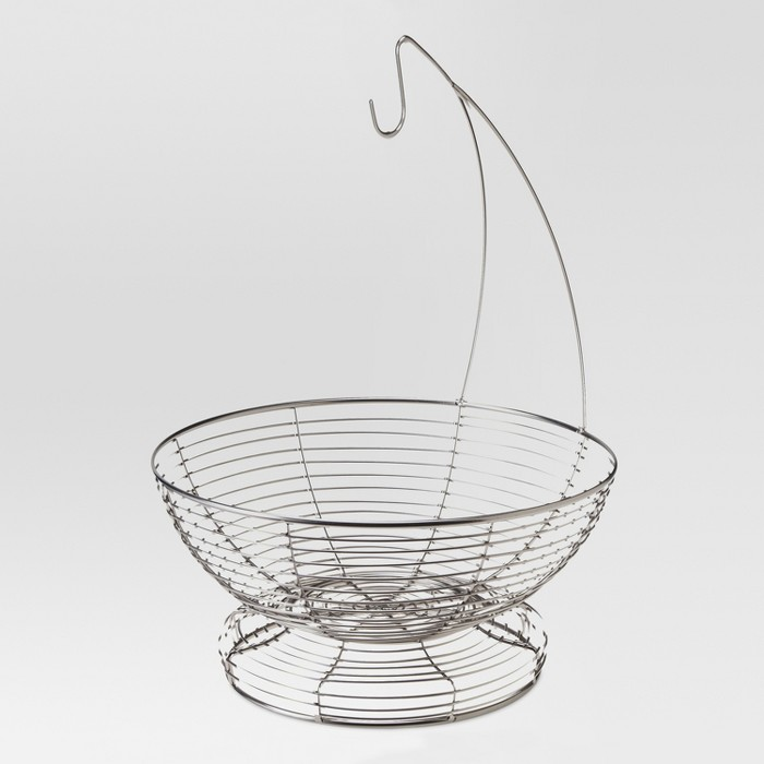 Steel Wire Fruit Basket - Threshold™ - image 1 of 1