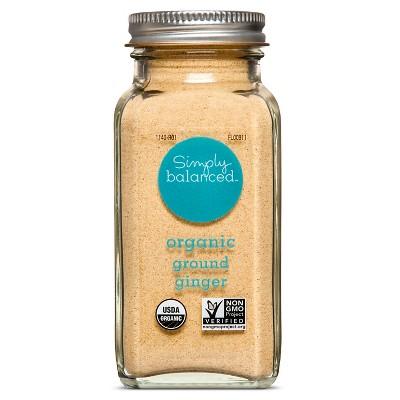 Organic Ground Ginger - 2.5oz - Simply Balanced™