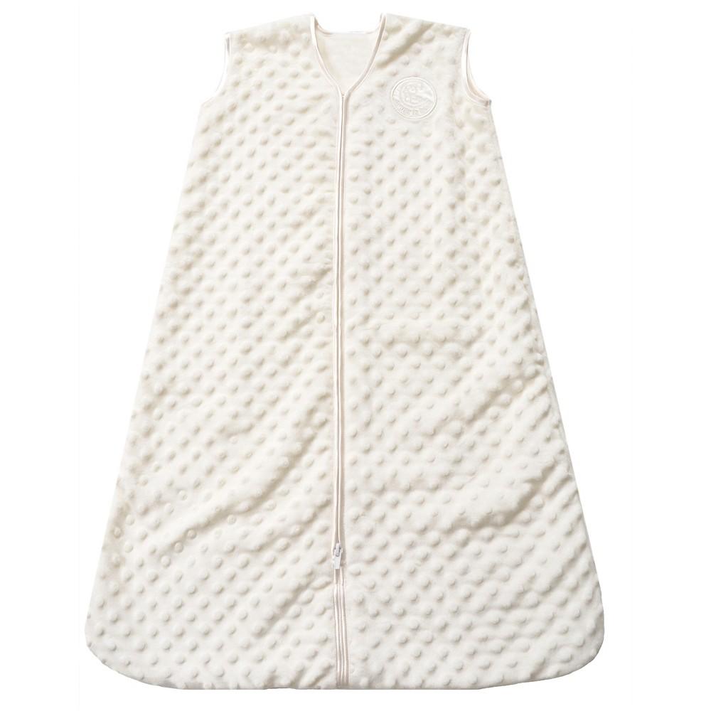 Halo Sleepsack Plushy Dot Velboa Wearable Blanket - Cream (Ivory) - S, Infant Unisex