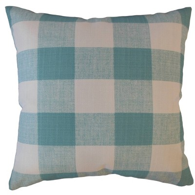 Plaid Square Throw Pillow - Pillow Collection