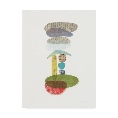 "Trademark Fine Art 18"" x 24"" Courtney Prahl 'Whimsy V' Canvas Art - image 1 of 3"